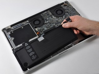 Batterie interne du MacBook Pro 17Pouces