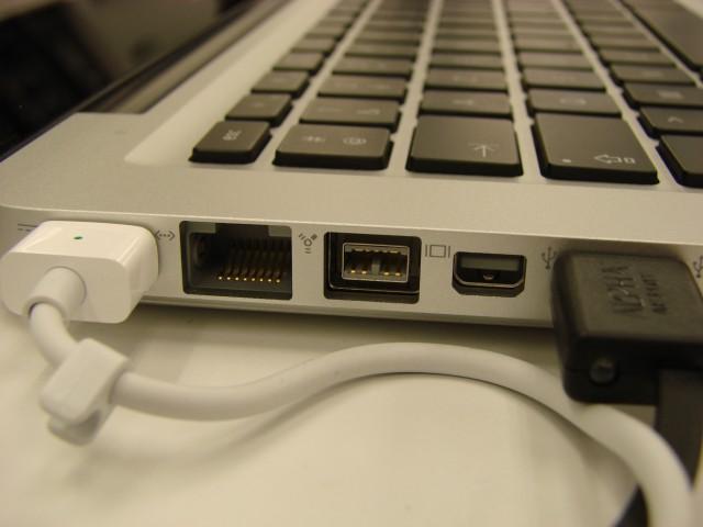Le retour du port Firewire sur le MacBook Pro