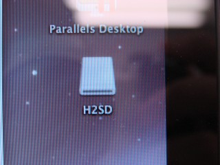 La carte SD (via le Zoom) apparait bien monté sur le bureau