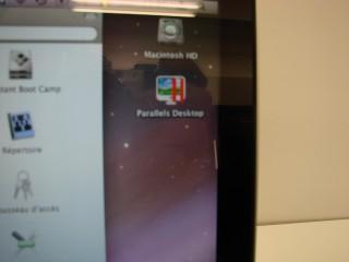 Pas de carte SD qui apparait sur le bureau du Mac