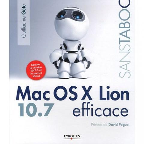 Couverture livre Mac OS X Lion Efficace
